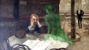 Η Ιστορία πίσω από τον Πίνακα: Ο Πότης Αψεντιού του Viktor Oliva