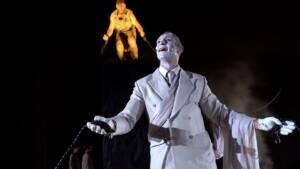 Προμηθέας Δεσμώτης, του Αισχύλου από το Θέατρο Πορεία στο Αρχαίο Θέατρο της Επιδαύρου